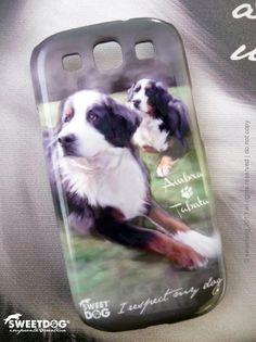 AMBRA & TABATA (Bernese Mountain Dog - Bovaro del Bernese) - Personalized Samsung Galaxy S3 cover