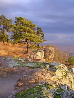 View from Mount Nebo State Park