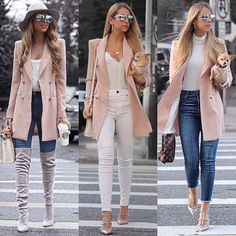 Business-Outfits Business-Outfits From work dresses and skirts to jackets and pants, you can find st Trendy Fall Outfits, Casual Work Outfits, Business Casual Outfits, Professional Outfits, Classy Outfits, Stylish Outfits, Look Fashion, Hijab Fashion, Winter Fashion