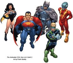 Crime Syndicate of Amerika.  Art by Frank Quitely.