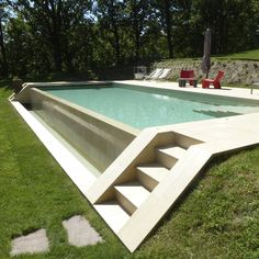fountain wall Amazing Small Indoor Swimming Pool Design Ideas Browse swimming pool designs to get inspiration for your own backyard oasis TAG Modern pools Small swimmin. Oberirdischer Pool, Swimming Pool Landscaping, Small Swimming Pools, Small Backyard Pools, Backyard Pool Designs, Small Pools, Swimming Pool Designs, Backyard Patio, Outdoor Pool