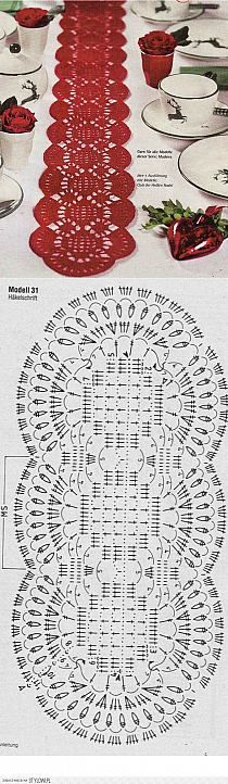 Art: napkin tablecloth na Stylowi. Crochet Diagram, Crochet Chart, Thread Crochet, Filet Crochet, Crochet Motif, Crochet Designs, Crochet Doilies, Knit Crochet, Crochet Table Runner Pattern