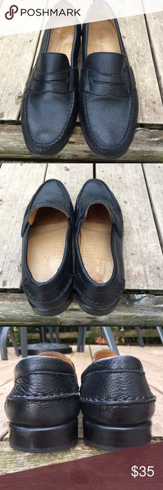 """Belvedere Men's Black Pebbled Leather Loafer 12D Studio Belvedere """"Michelle"""" Penny Loafers  Condition EUC no flaws  Size 12  Very nice pair of black pebbled leather penny loafers, soft all leather shoe. Thanks for looking! Belvedere Shoes Loafers & Slip-Ons"""