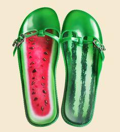 watermelon shoes!