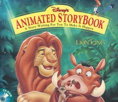 THE LION KING ANIMATED STORYBOOK +1Clk Windows 10 8 7 Vista XP Install
