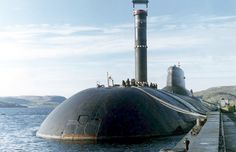 Russian biggest submarine class Typhoon or Akula ..-