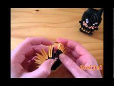3D origami - Batman tutorial