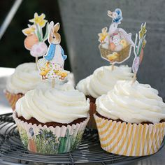 Easter with Beatrix Potter Cupcake Kit