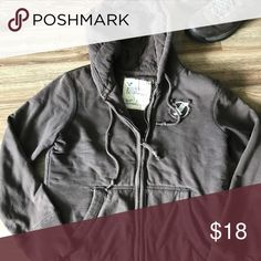 American Eagle Quilted Zip Up Brown, heavy, quilted zip up jacket American Eagle Outfitters Jackets & Coats Bomber & Varsity