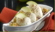 Cheesecake alla mela verde.