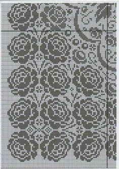 Cross Stitch Fruit, Cross Stitch Flowers, Cross Stitch Patterns, Knitting Patterns, Crochet Patterns, Filet Crochet, Crochet Doilies, Christmas Cross, Chrochet