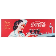 Toile Coca-Cola Refresh petit modèle