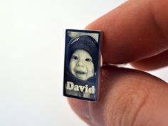 Personalised Photo Engraved Cufflinks www.engravedmemories.co.uk #fathersday #photogift #engraved