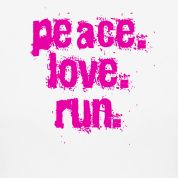 peace. love. run.