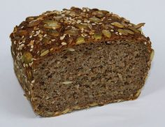 I will always love bread. Sprouted grain bread with sourdough starter (hooray!)  http://www.rejoiceinlife.com/recipes/essene.php