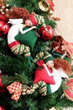 Текстильные куклы и интерьерные игрушки