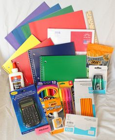 The best way to buy Back-To-School Supplies! Our Back-To-School Supply Kits are the perfect solution to your child's back-to-school needs. They offer every parent a great value and time saving solutio