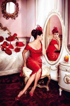 dustjacket attic: Lipstick Red + Campari + Penelope