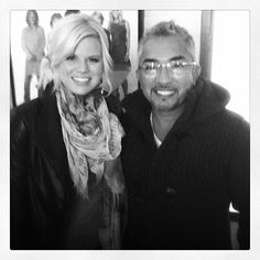 @cesarmillan: meganhilty and I at The View in #NYC