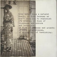 The truth about love. True love is a decision you make and continue to make
