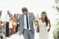 A Perfect Surfer's Paradise DIY Wedding  | OneWed
