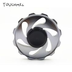 TOUCHMEL Hand Spinner Metal EDC Fidget Spinner Toy Anti Stress Wheel