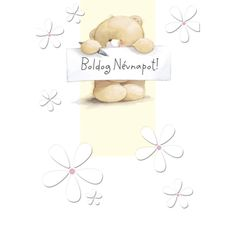 Boldog névnapot! Name Day, Friends Forever, Winnie The Pooh, Teddy Bear, Place Card Holders, Happy, Cards, Diy, Celebration