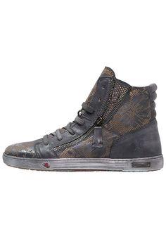 Dieser Sneaker sorgt für einen coolen Street-Style. Felmini JOMAR - Sneaker high - antracite für 144,95 € (07.08.16) versandkostenfrei bei Zalando bestellen.