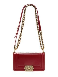 0b51789be6f4 Chanel Rare Red Small Boy Bag  4100 Vintage on Gilt