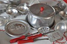 Baking Vintage Toy Kitchen Sets