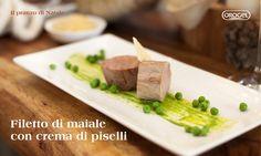 Pranzo di Natale: #filetto con crema di #piselli