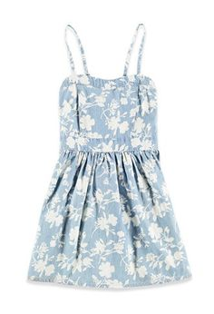 Floral Chambray Cami Dress (Kids) | Forever 21 Girls - 2002247867