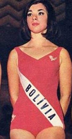Maria Elena Borda - Miss Universe Bolivia 1966