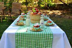 Apple Birthday Party