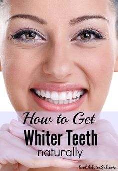 Learn some tips & trick on how you can have whiter teeth naturally