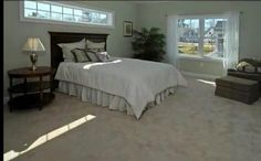 window above bed Interior Windows, Bedroom Windows, House Windows, Basement Windows, Bedding Master Bedroom, Master Bedroom Design, Dream Bedroom, Clerestory Windows, Transom Windows