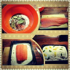 Marinade salmon