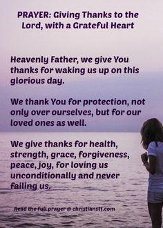 Prayer of Thanks - pin