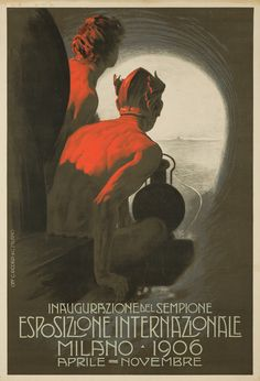 Exposition Internationale / Milan 1906. Leopoldo Metlicovitz. ~Via Rogério Zaia