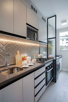 Home Decoration For Anniversary Kitchen Room Design, Home Room Design, Kitchen Cabinet Design, Modern Kitchen Design, Home Decor Kitchen, Interior Design Kitchen, Kitchen Furniture, Home Kitchens, Kitchen Ideas