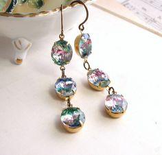 RAINBOW Earrings for my granny
