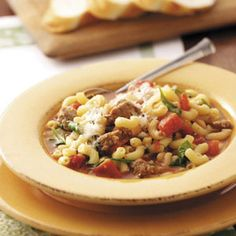 Pasta Fagioli Soup Recipe -
