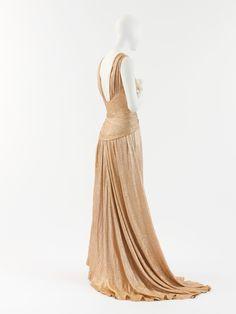 Coco Chanel evening dress ca. 1934 via The Costume Institute of the Metropolitan Museum of Art