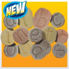 Feels-Write Letter Stones -Mark Making Ideas and Activities For Early Years. Great for letter formation, learning to write and fine motor skills