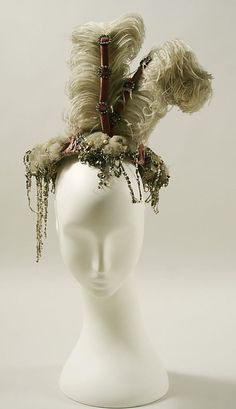 Headdress, c. 1895.