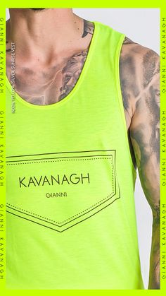 The Neon fashion trend seems to be here to stay! Check out this amazing Neon Yellow Silver Sunrise Vest, perfect for Neon Lovers! Find it quickly by clicking here! Neon Yellow, Streetwear Fashion, Life Lessons, Tank Man, Sunrise, Street Wear, Vest, Lovers, Amazing