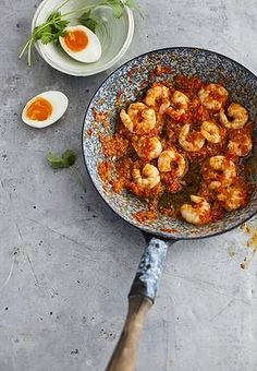 Bill Granger's best ever chilli prawn sambal