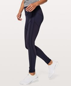 """Lululemon- All The Right Places Pant II 28"""" in Midnight Navy"""