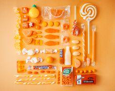 Orange candy by Emily Blincoe.