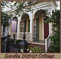 Garden District Cottage, New Orleans Homes